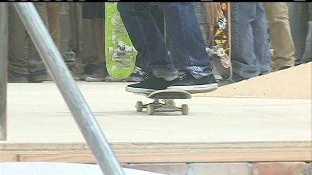 Skateboarders hope to change image with new park