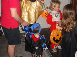 Plan and discuss the trick-or-treating route with your kids.