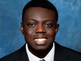 #50 Mogboluwaga Oginni, Forward (Freshman)