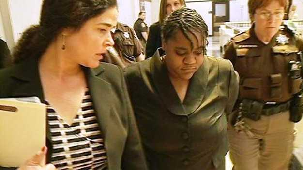 PHOTO: Monique Lee in court