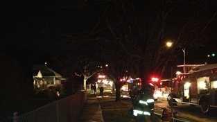 PHOTO: Binney fire