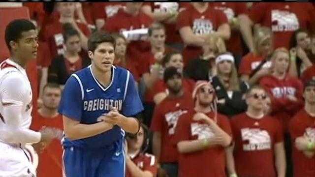 Creighton tops Nebraska