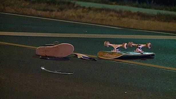 PHOTO: teen hit by car
