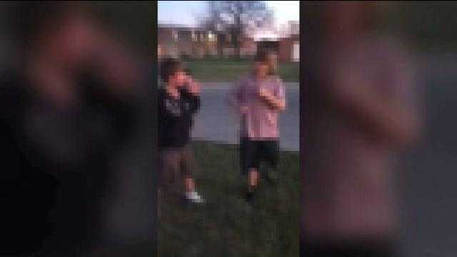 img-Fight posted on YouTube sparks concern