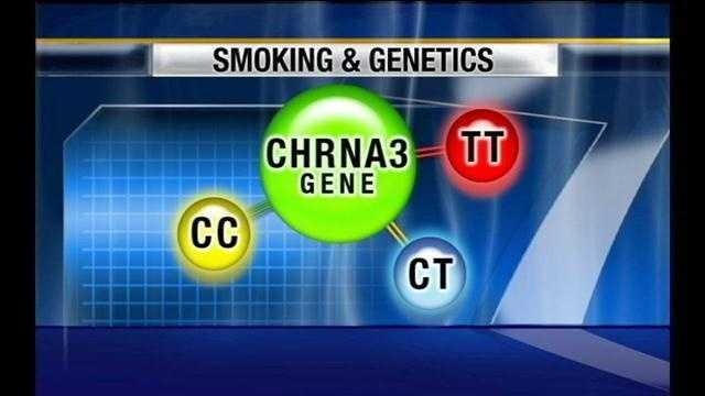 PHOTO: smoking gene
