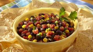 """If she had to pick one food she couldn't live without, it would be chips and salsa. """"Mild, of course. I am a baby when it comes to spice. Throw in a little cheese dip and I am sold."""""""