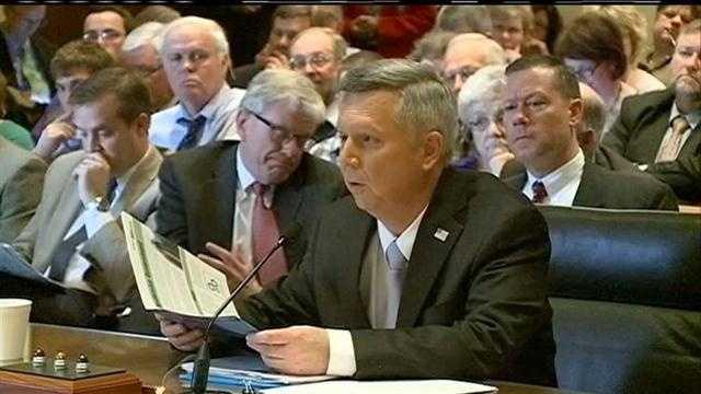 Hearing held on Heineman tax plan