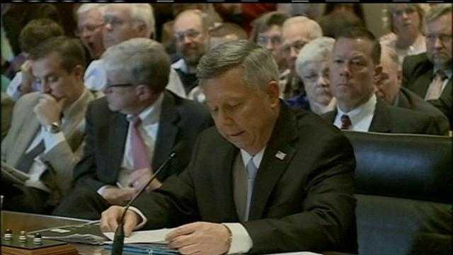 tax hearing continues