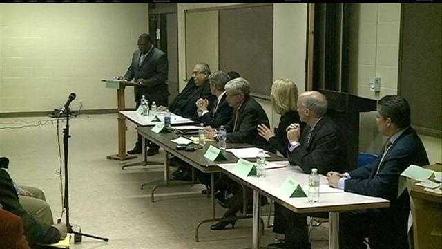 Mayoral candidates debate the need for police auditor
