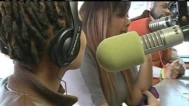 PHOTO: radio show
