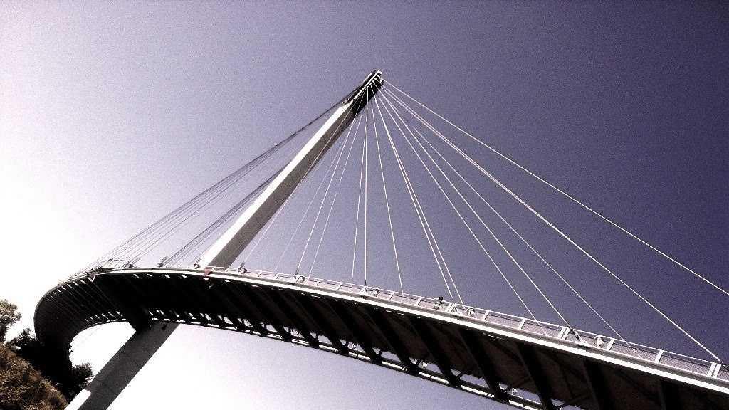 PHOTO: Pedestrian bridge