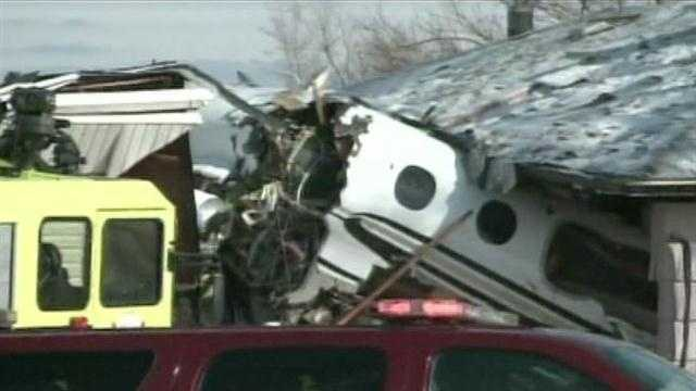Two killed after jet from OK crashes in Indiana