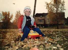 "Jeremy's favorite time of year is the fall.  ""Days like Halloween and Thanksgiving bring family and friends together, and I loved playing in the leaves as a kid."""