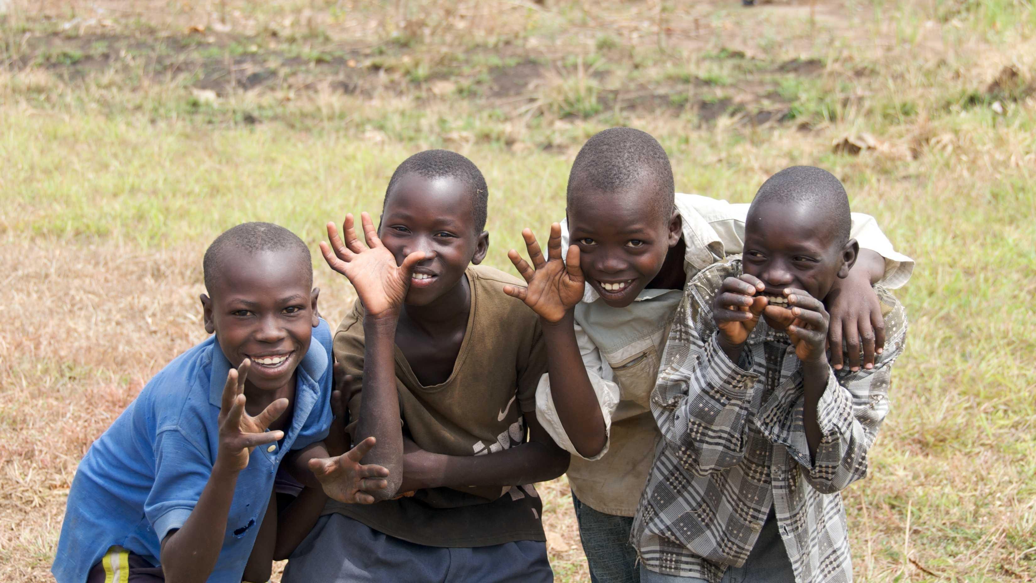 South Sudan kids