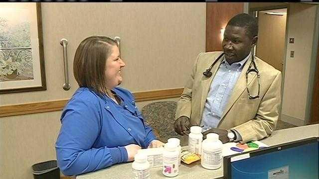 Doctors, nurses sort through thousands of South Sudan donations