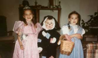 """Amanda's favorite childhood character was Michelle on Full House ... """"and pretty much any character I could use as dress-up inspiration."""""""