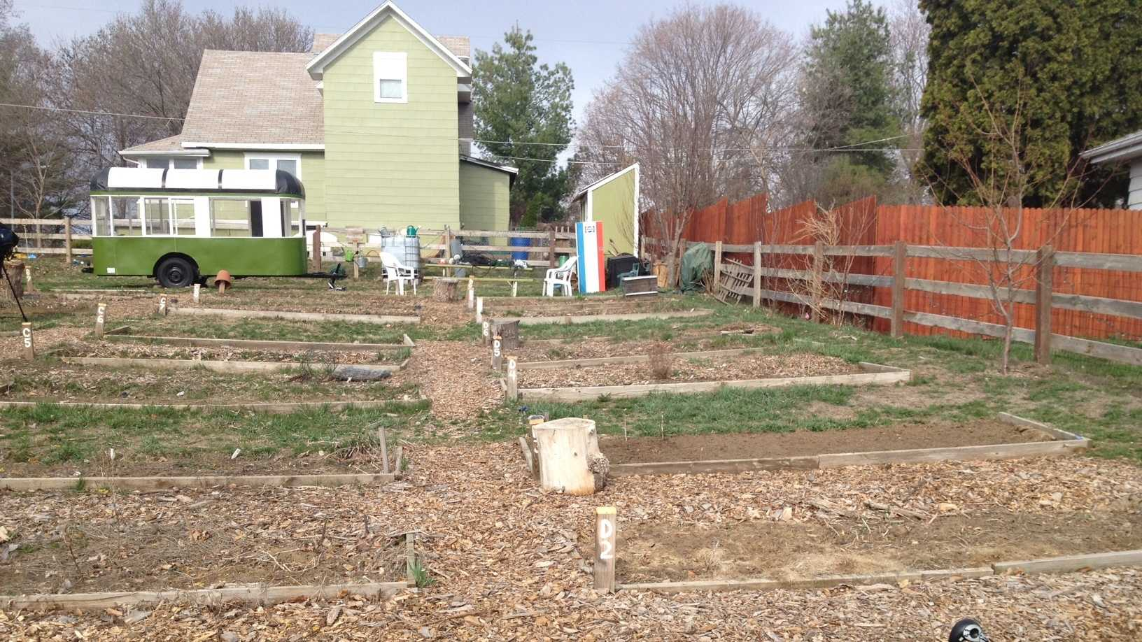 Community gardens getting early start