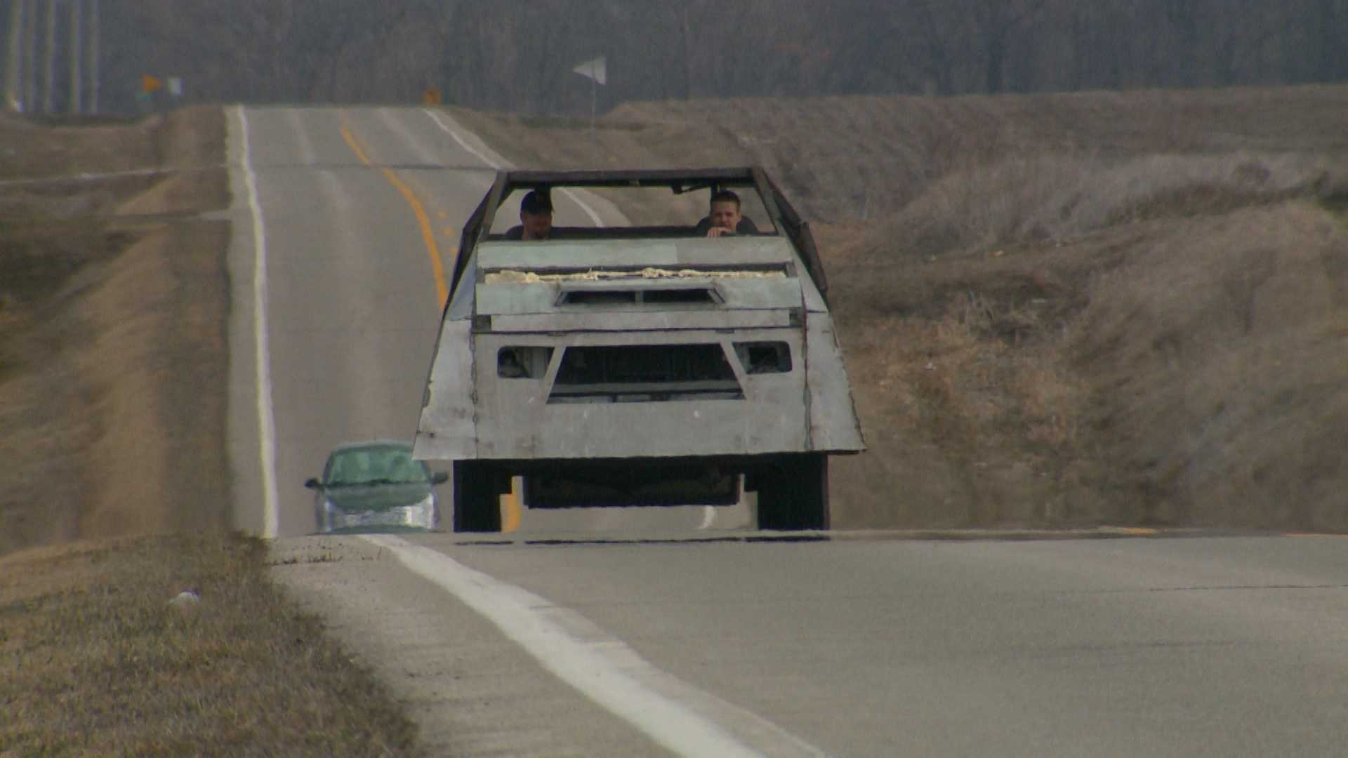 Tornado Intercept Vehicle