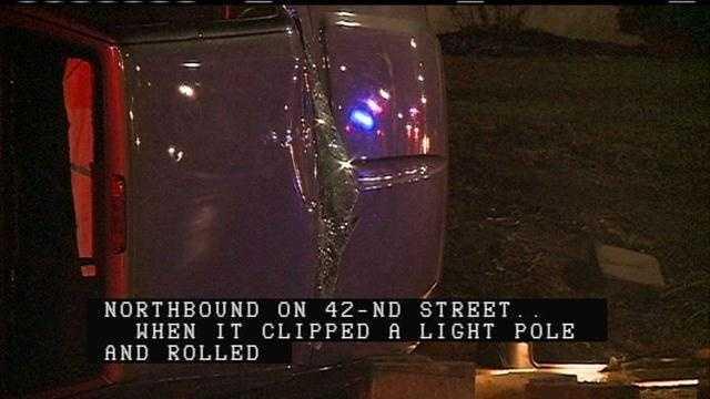 42nd and Emile Fatal Crash