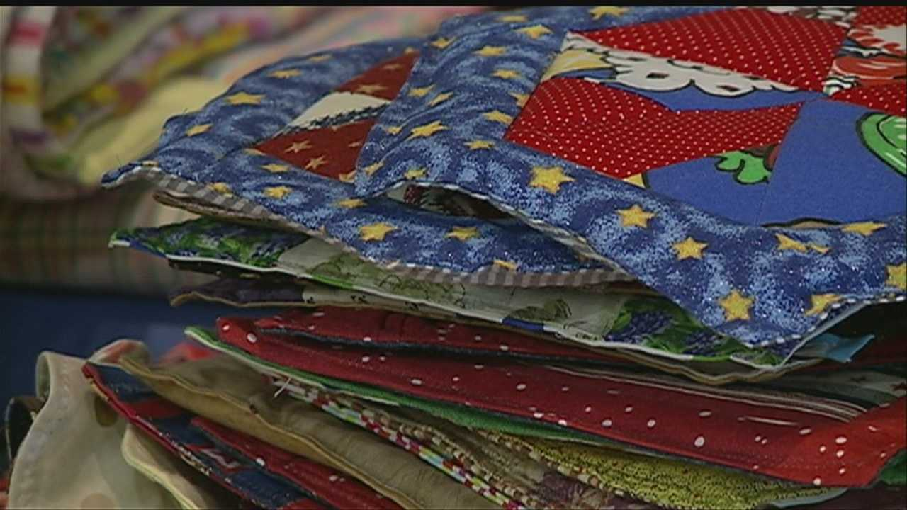 Quilters send comfort to tornado victims