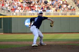 North Carolina squared off against North Carolina State in Game 10 of the College World Series at TD Ameritrade Park Omaha on Thursday night.