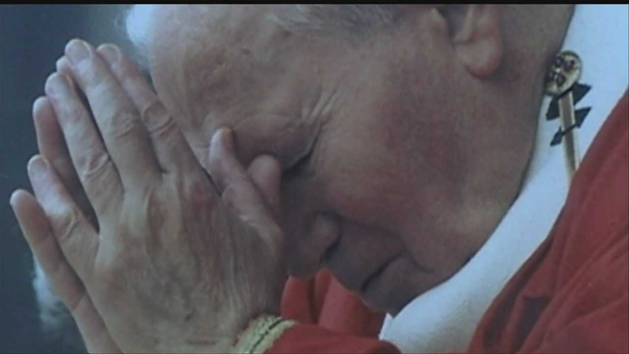Former pope to become saint