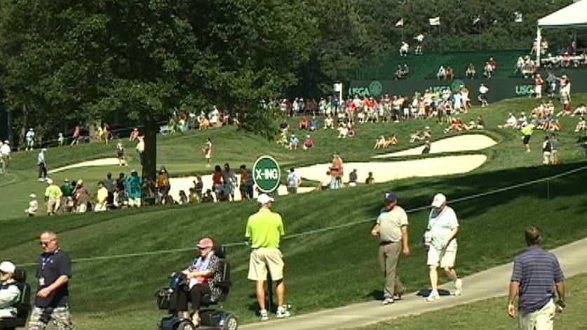 golf fans