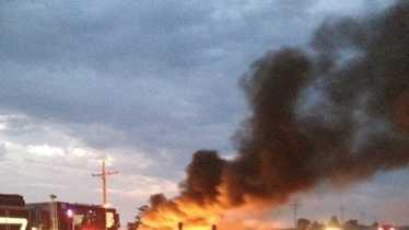 Fiery crash leaves two men dead in Cass County