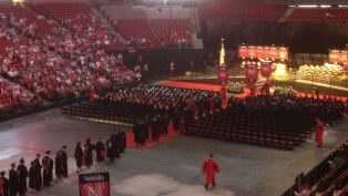 Pinnacle Bank Arena opens doors to grads