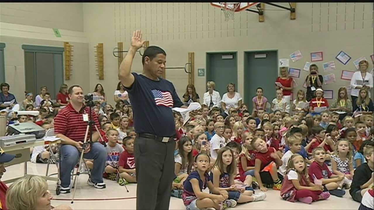 Students learn lesson on citizenship