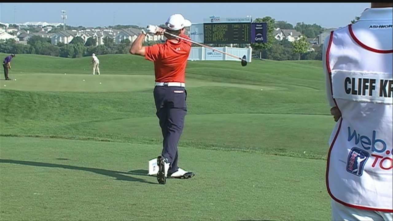 Life of pro golfer brings challenges