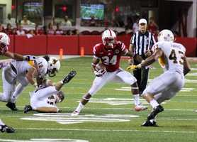 True freshman Terrell Newby showed his speed against Wyoming.