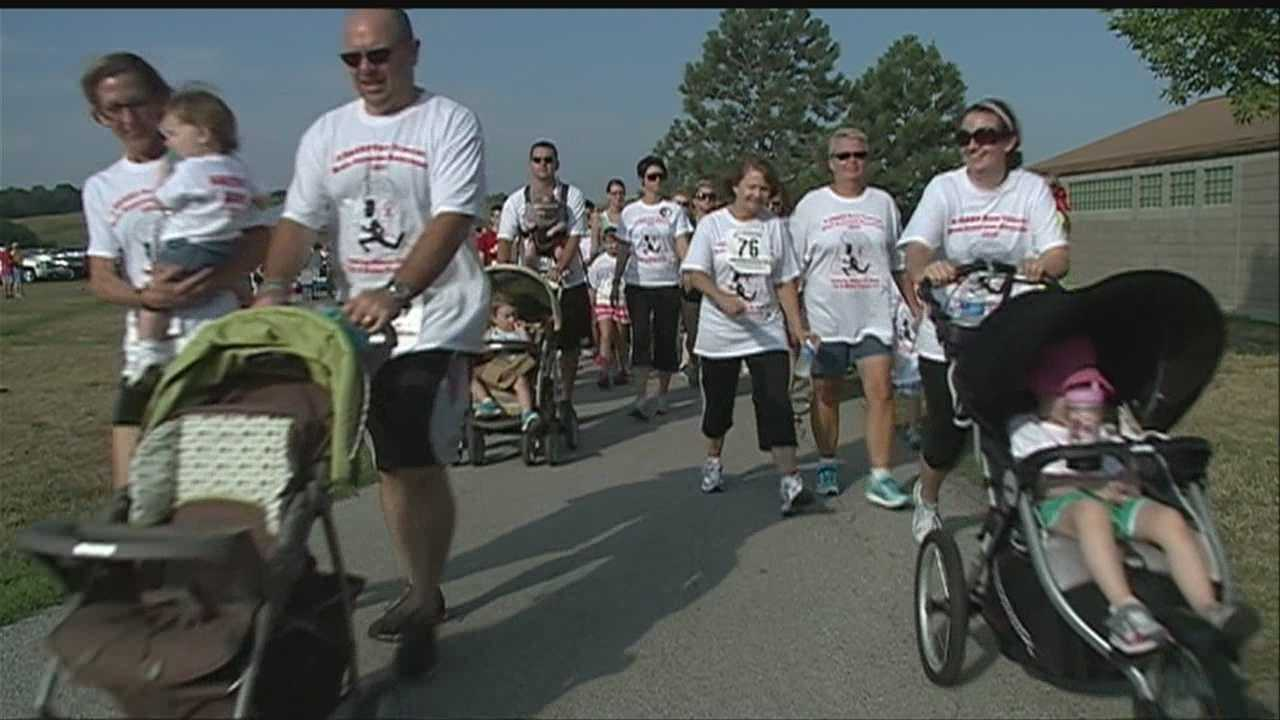 Runners, walkers raise money for people with brain aneurysms