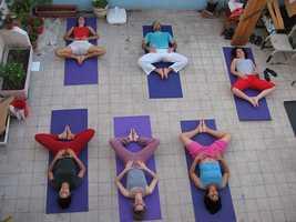 7.) Do Yoga
