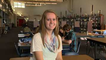 Hope Schreiner, a senior at Ralston High School, has a 4.231 grade point average and is an intern with the Ralston Recorder. She is a Senior Class Officer and participates in National Honor Society, marching band, show choir and the tennis team. Additionally, she is involved in Senior Youth at her church and the Mobile Food Pantry program.