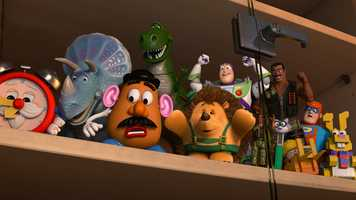 """What starts out as a fun road trip for the """"Toy Story"""" gang takes an unexpected turn for the worse when the trip detours to a roadside motel. After one of the toys goes missing, the others find themselves caught up in a mysterious sequence of events that must be solved before they all suffer the same fate in this film."""