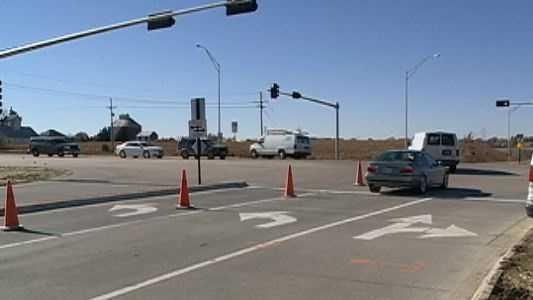 Nebraska crossing traffic