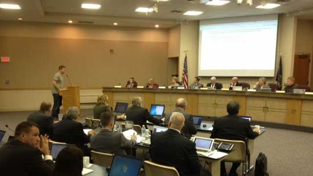 Millard School Board meeting