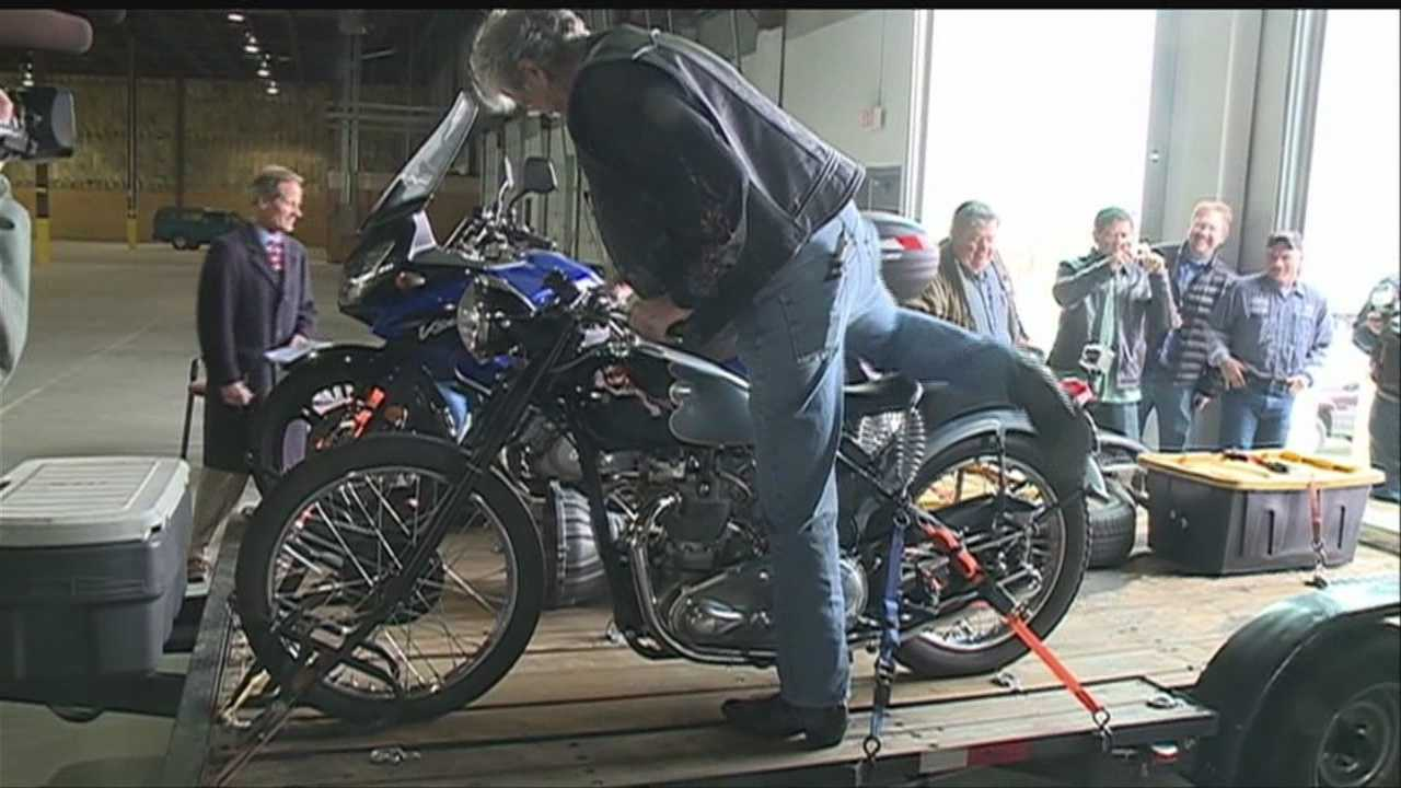 Triumphant motorcycles returns to owner 46 years later