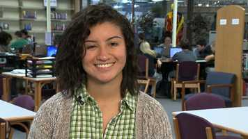 Claudia Cortes, Bellevue West High SchoolClaudia has a 5.3 grade point average and is president of the senior class. She is team captain for track and cross country, mellophone section leader for the T-Bird marching band, president of DECA and a member of the West Welcomers and freshman mentor programs.