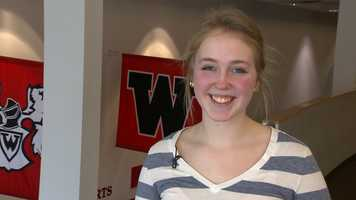 Colleen Hacker, Westside High SchoolColleen has a 3.81 grade point average and was a two time drum major for the Warrior Marching Band. She participates in volleyball, track, jazz band, Project Unify and volunteers at Munroe-Meyer and her church.