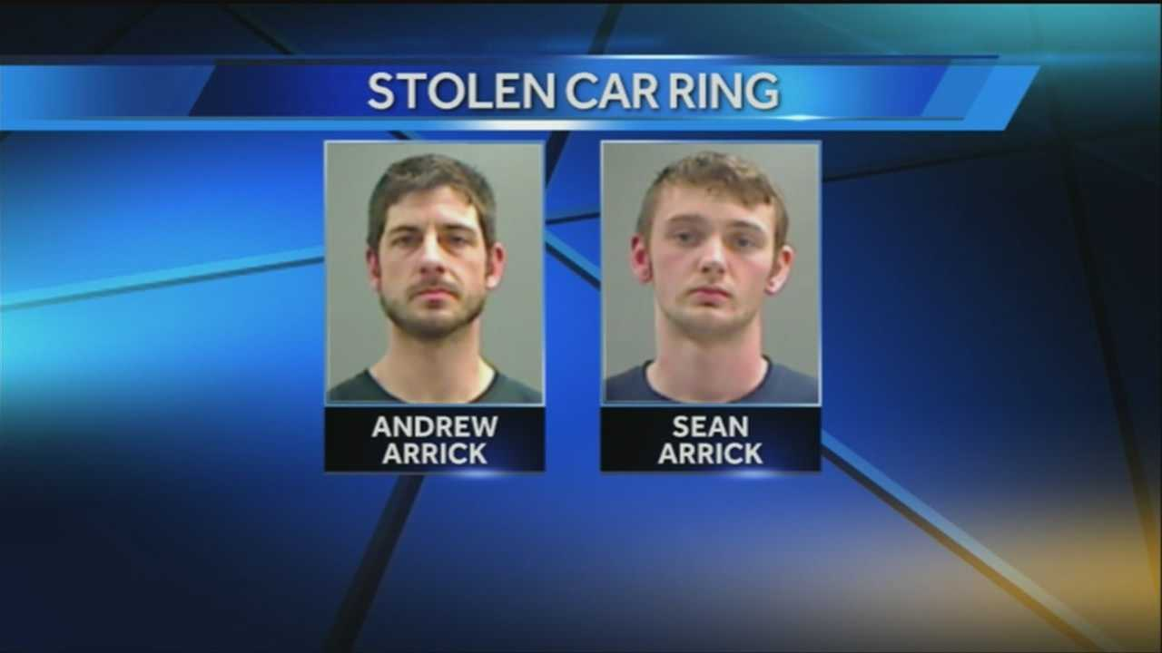 Two arrested for stealing several vehicles