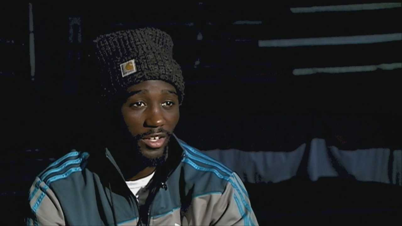Terence Crawford fights for world title