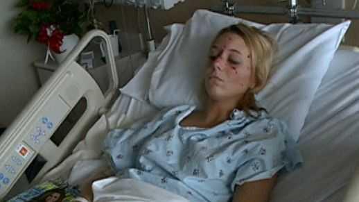 Teen crash victim
