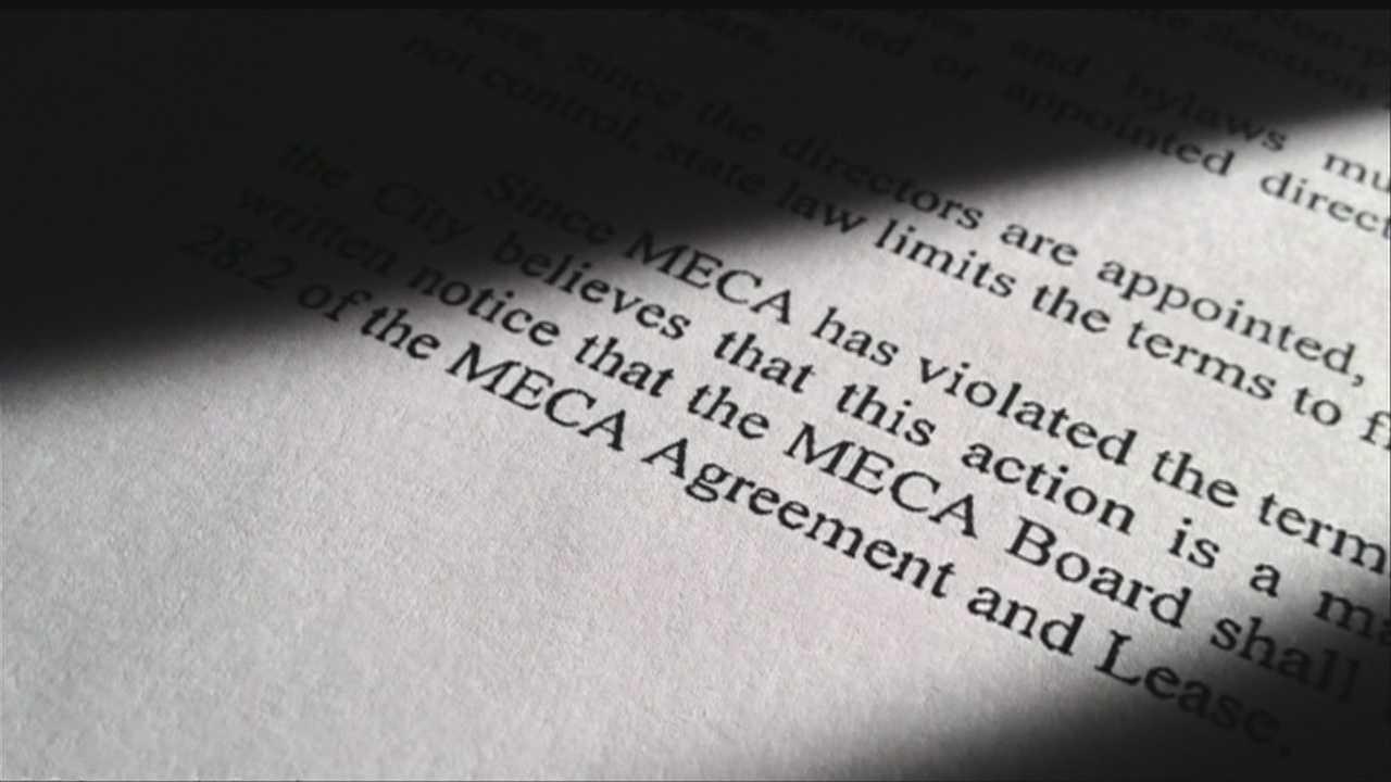 City, MECA board at odds