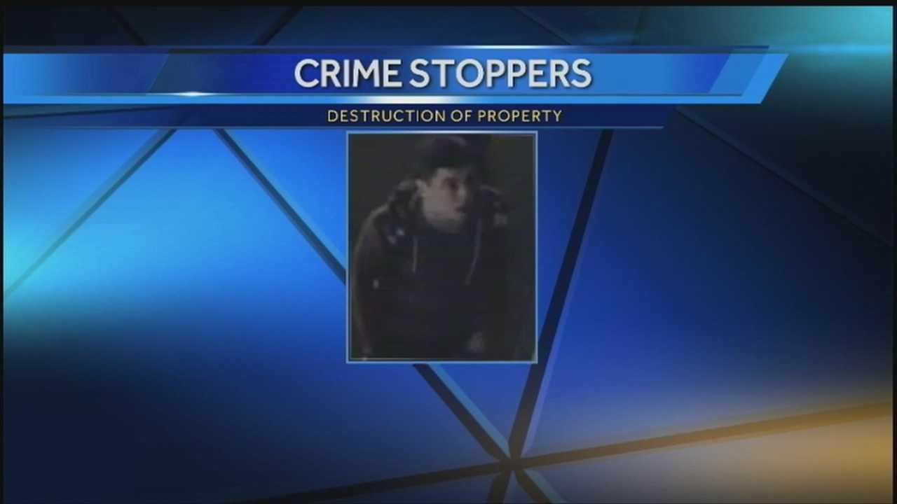 Crime Stoppers: Alarm system scares away would-be burglar