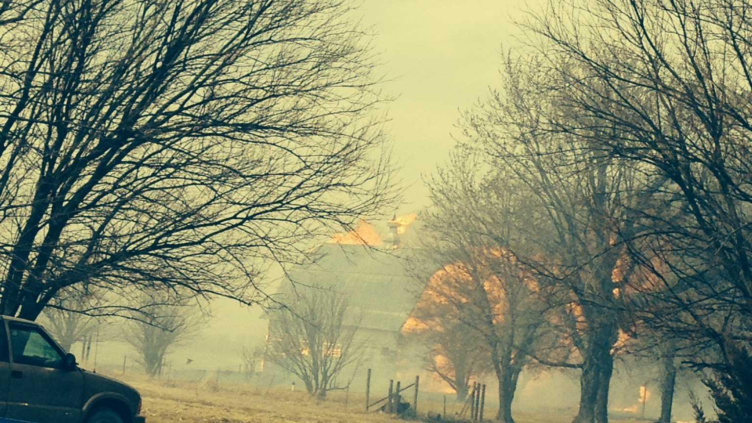 Iowa fire
