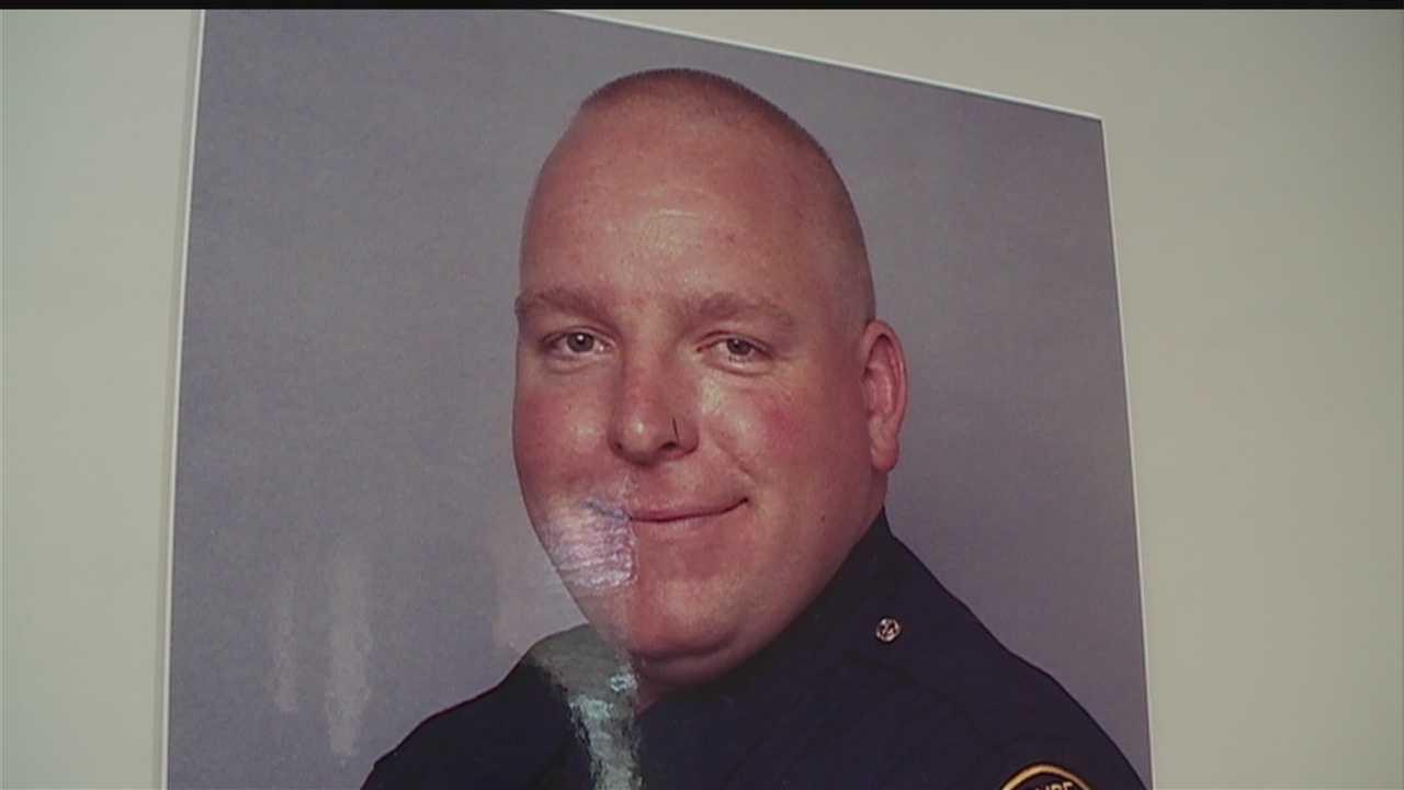 Honoring an Officer