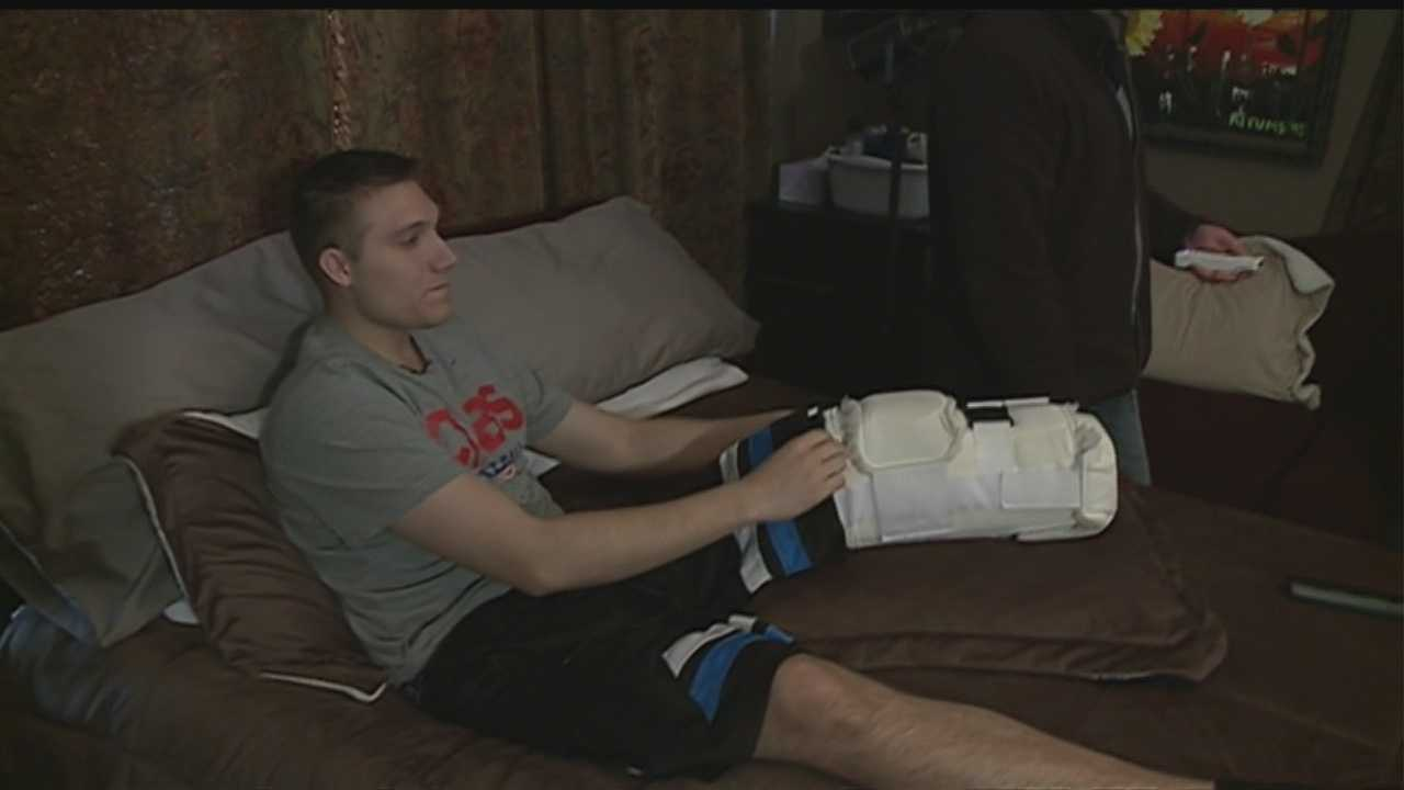 Man recovering from rare cancer diagnosis