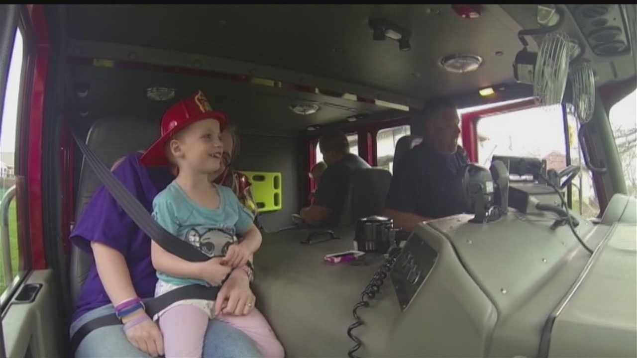 Iowa community comes together to make young cancer patient's dreams come true